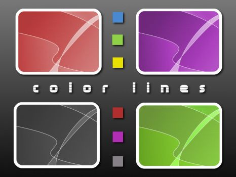 Color Lines Wallpaper Pack by JE1403
