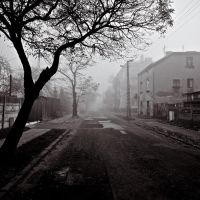 A Forlorn Street by drkshp