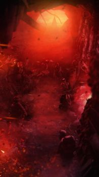 War in Hell by NOGA14