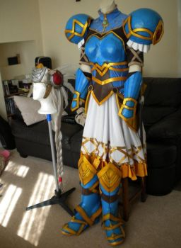 Lenneth Valkyrie Cosplay Finished - Front by arido-X