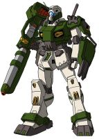 RGM-79F Land Combat Type GM by unoservix