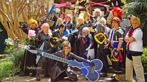 Kingdom Hearts Group Shot by pandemonium06