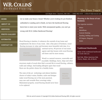 WRCollins Hardwood Web design2 by pookstar