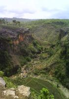 Indonesian Grand Canyon by touchthis