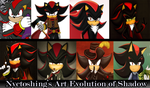 Art Evolution of Shadow :D by nyctoshing