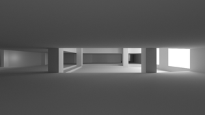 E1M1 Render 1 - Geometry and Lighting by CantuArt