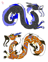 S- Dragon Adopts 1 by Spazzy-StormyAdopts