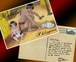 Anime Postcard Philippines by fiercejarad