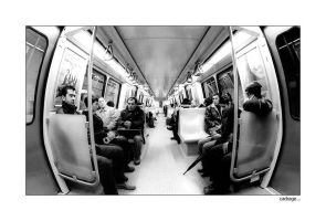 subway  users by cadrage