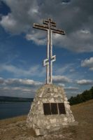 saint cross on the mount by Mihenator