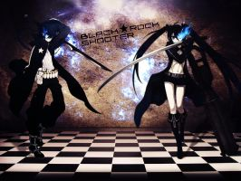 Black Rock Shooter Wallpaper by Diaboliku