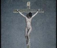 New female crucifix 600 by passionofagoddess