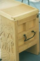 Medieval Chest end view by JARM13