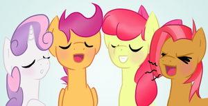 Cutie Mark Carolers by HowlsInTheDistance