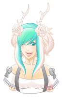 Gaia Online Commission: Elesteria by medatelle