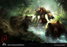 Berserkers by DreadJim