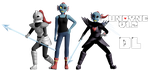 MMD Undertale - Undyne v1.2 by MagicalPouchOfMagic