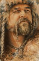 Viking close-up by spcarlson