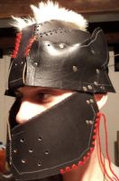 Leather Orc helmet - WIP by LeTrefle