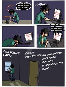 Web Series: Erik and the Internet Page 1 by InfiniteComic