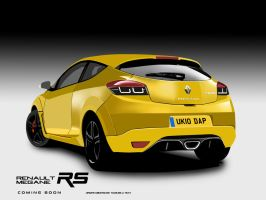 All new Renault Megane RS 2010 by Dap1987