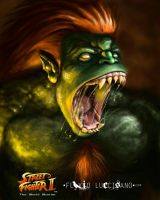 Blanka (Street Fighter) by flavioluccisano