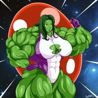 She Hulk power gem by MATL