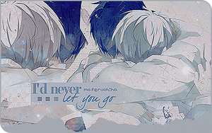I'd never let you go -signature- by xxxypdesignxxx