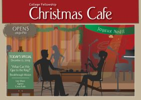Christmas Cafe promo by clementgkurnia