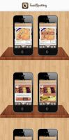 FoodSpotting Iphone app redesign by SaturnDesigns
