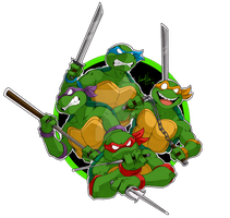 Teenage Mutant Ninja Turtles by Inked-Alpha