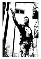 Punisher fanart by SilviodB