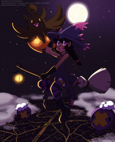 [PKMN OC] Happy Halloween 2016! by Amadere