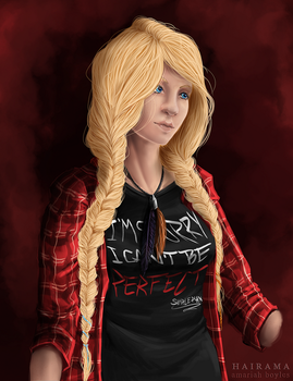 [SF] Lee Raines, Portrait by newvoh