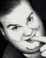 Chris Farley by Doctor-Pencil