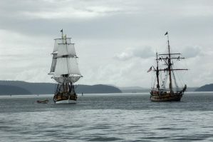 Tall ships by terrybare