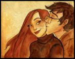 +Commission+ Lily and James by Lumosita