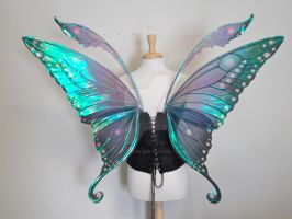 Swallowtail Fairy Wings back by FaeryAzarelle