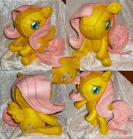 Fluttershy Felt Plush by LaPetitLapearl