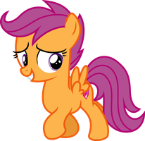 Vector Scootaloo by DeyrasD