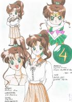 Sailor Jupiter is Makoto by Niisai