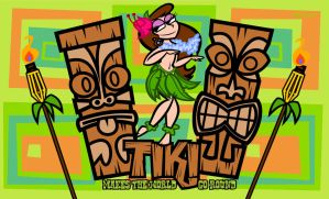 Tiki Makes The World Go Round by Cool-Hand-Mike