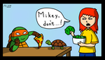 Pizza for a Turtle by ShoreshKatan