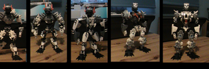 bionicle: my self moc kyrus the fallen king vo1-7 by CASETHEFACE