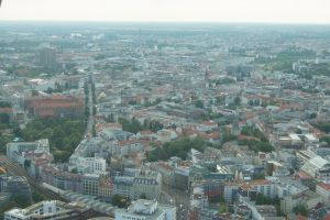 Berlin, panoramic view by Almile