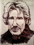 Roger Waters by MorgainLaFey