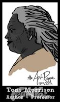 #FemiNoir DAY 8 - Toni Morrison by TheArtRogue