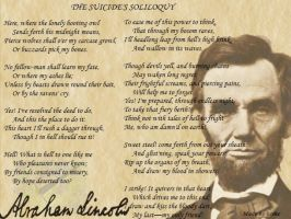 The Suicide's Soliloquy by Historybuffy