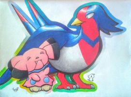 Snubbull and Swellow