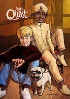 jonny quest by cucomaluco
